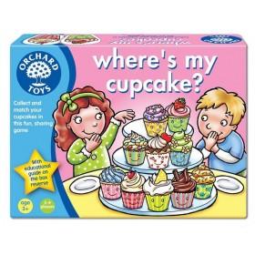 Joc educativ Unde este prajiturica mea? - Where`s my cupcake? - Orchard Toys