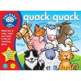 Joc Quack Quack - Ghiceste animalul - Orchard Toys