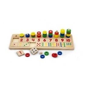 Joc Numara si Potriveste numerele - New Classic Toys