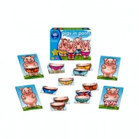 Joc Purceluși în pantaloni - Pigs in pants - Orchard Toys