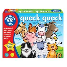 Joc educativ Quack Quack - Ghiceste animalul - Orchard Toys