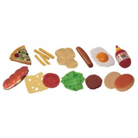Jucarii Fast-Food - 19 bucati