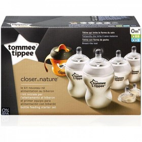 Kit de pornire nou-nascut Tommee Tippee Closer To Nature - 7 piese
