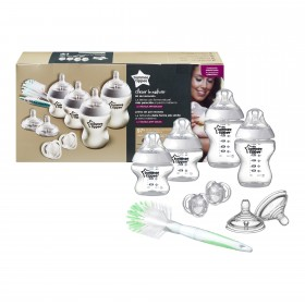 Kit de pornire nou-nascut Tommee Tippee Closer To Nature - 9 piese