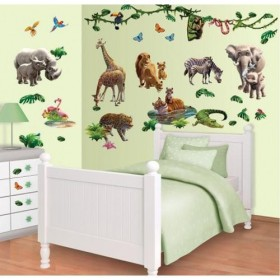Kit Decor Walltastic - Jungle Adventure