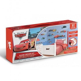 Kit Decor Walltastic - Disney Cars