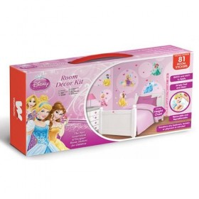 Kit Decor Walltastic - Disney Princess
