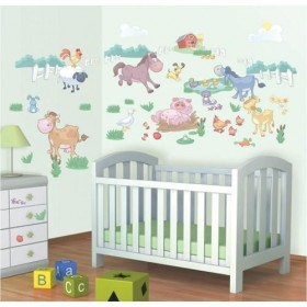 Kit Decor Walltastic - Fun on the Farm