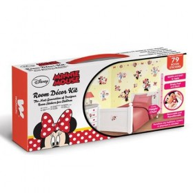 Kit Decor Walltastic - Minnie Mouse Clubhouse
