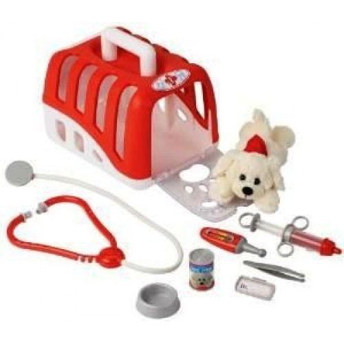 Kit veterinar cu catelus si accesorii - Klein