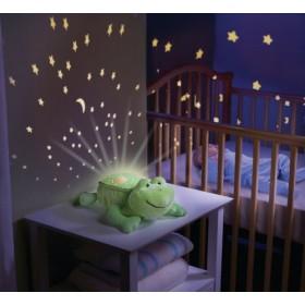 Lampa cu sunete si proiectii Broscuta somnoroasa