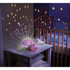 Lampa cu sunete si proiectii Fluturasul somnoros