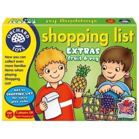 Lista de cumpărături - Fructe şi legume - Orchard Toys