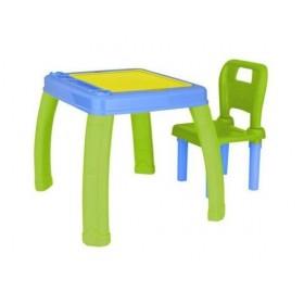 Masa si scaun cu spatar