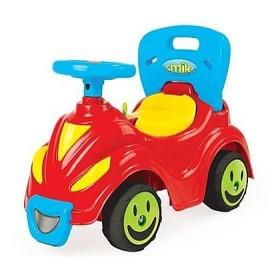 Masina cu volan fara pedale Smile 2 in 1
