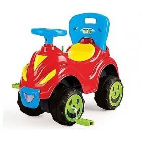 Masina cu volan si pedale Smile 2 in 1