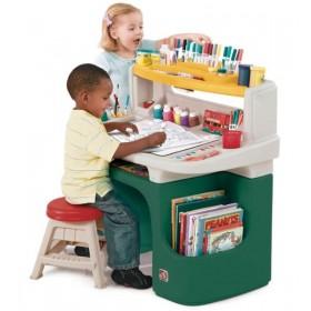 Masuta birou pentru copii Art Master Activity Desk - STEP2