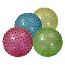 Minge gonflabila transparenta 23 cm, 4 culori