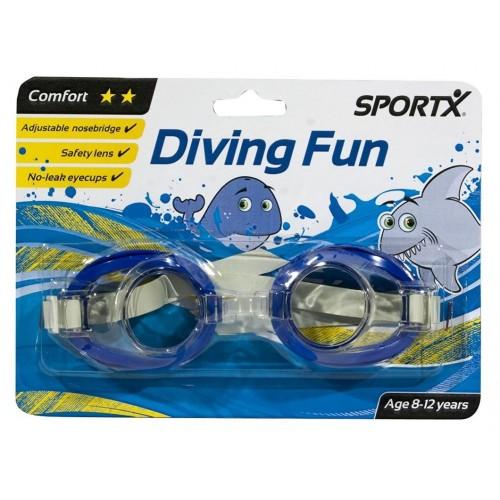 Ochelari înot copii Junior Comfort**, Unisex - Sportx