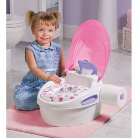 Olita Multifunctionala 3 in 1 Potty Training System - Pink