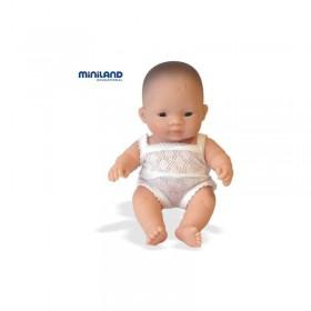 Papusa Baby asiatic (baiat) - 21 cm