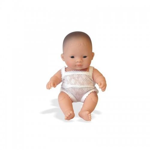 Papusa Baby asiatic (fata) - 21 cm