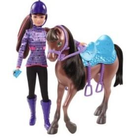Papusa Barbie si surorile ei - Skipper si calutul