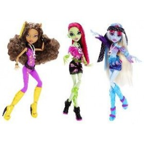 Papusa Monster High - Festivalul de muzica