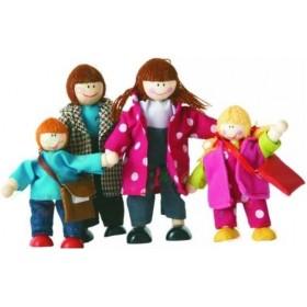 Papușele pentru casută - Familia modernă - Woody