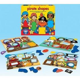 Piraţii şi formele - Pirate shapes - Orchard Toys