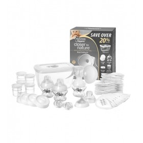 Pompa san si kit de alaptare Tommee Tippee Closer to Nature