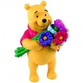 Pooh cu flori - Bullyland