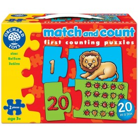 Potrivim si numaram - Match and Count - Orchard Toys
