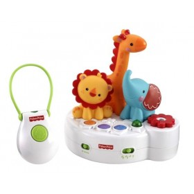 Proiector cu telecomanda 4 in 1 Rainforest Friends Fisher Price