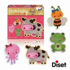 Puzzle Baby cow - Diset