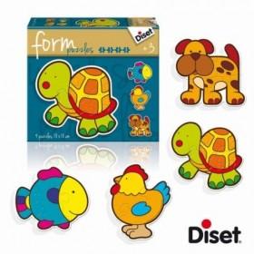 Puzzle Baby pets - Diset