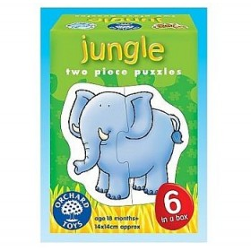 Puzzle animale salbatice - Jungle - Orchard Toys