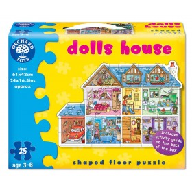 Puzzle Casa papusilor - Dolls house - Orchard Toys