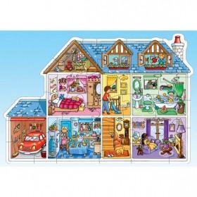 Puzzle Casă păpuşilor - Dolls house - Orchard Toys