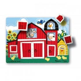 Puzzle Cucu-Bau Ferma Animalelor