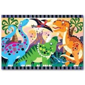 Puzzle de podea - Inceputurile dinozaurilor