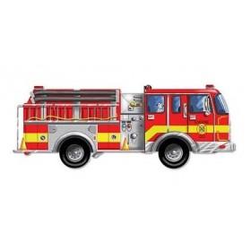Puzzle de podea gigant - Masina de pompieri