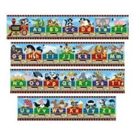 Puzzle gigant de podea - Alfabet Express