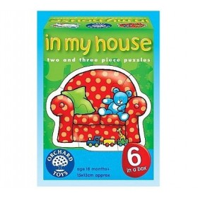Puzzle La mine acasa - In my house - Orchard Toys