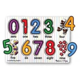 Puzzle lemn - Cifrele