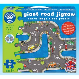 Puzzle podea Drumul - Giant Road Jigsaw - Orchard Toys