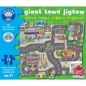 Puzzle podea Orasul - Giant Town Jigsaw - Orchard Toys