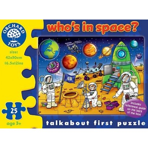 Puzzle Spatiul cosmic - Who`s in space? - Orchard Toys