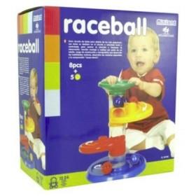 Jucarie cursa cu bile pentru bebelusi
