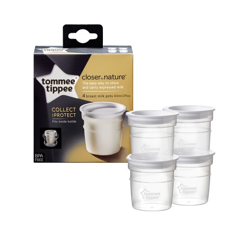Recipiente de stocare lapte matern Tommee Tippee Closer to Nature